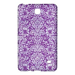 Damask2 White Marble & Purple Denim Samsung Galaxy Tab 4 (8 ) Hardshell Case