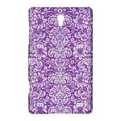 Damask2 White Marble & Purple Denim Samsung Galaxy Tab S (8 4 ) Hardshell Case