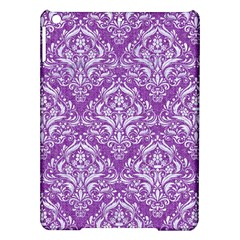 Damask1 White Marble & Purple Denim Ipad Air Hardshell Cases