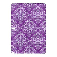 Damask1 White Marble & Purple Denim Samsung Galaxy Tab Pro 10 1 Hardshell Case