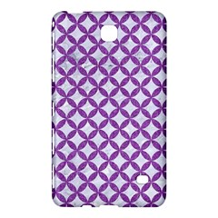 Circles3 White Marble & Purple Denim (r) Samsung Galaxy Tab 4 (8 ) Hardshell Case
