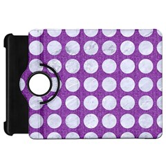 Circles1 White Marble & Purple Denim Kindle Fire Hd 7