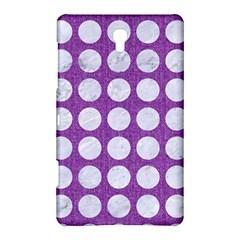 Circles1 White Marble & Purple Denim Samsung Galaxy Tab S (8 4 ) Hardshell Case