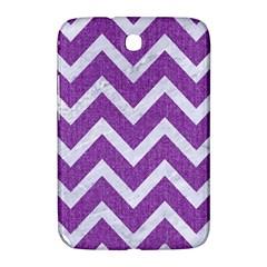 Chevron9 White Marble & Purple Denimchevron9 White Marble & Purple Denim Samsung Galaxy Note 8 0 N5100 Hardshell Case
