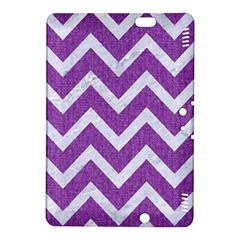 Chevron9 White Marble & Purple Denimchevron9 White Marble & Purple Denim Kindle Fire Hdx 8 9  Hardshell Case