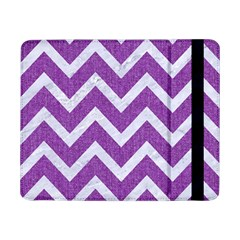 Chevron9 White Marble & Purple Denimchevron9 White Marble & Purple Denim Samsung Galaxy Tab Pro 8 4  Flip Case