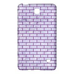 Brick1 White Marble & Purple Denim (r) Samsung Galaxy Tab 4 (8 ) Hardshell Case