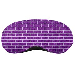 Brick1 White Marble & Purple Denim Sleeping Masks by trendistuff