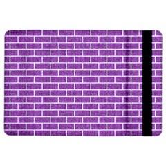 Brick1 White Marble & Purple Denim Ipad Air 2 Flip
