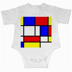 Piet Mondrian Mondriaan Style Infant Creepers