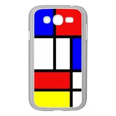 Piet Mondrian Mondriaan Style Samsung Galaxy Grand Duos I9082 Case (white)