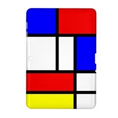 Piet Mondrian Mondriaan Style Samsung Galaxy Tab 2 (10 1 ) P5100 Hardshell Case