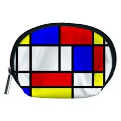 Piet Mondrian Mondriaan Style Accessory Pouches (medium)