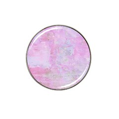 Soft Pink Watercolor Art Hat Clip Ball Marker