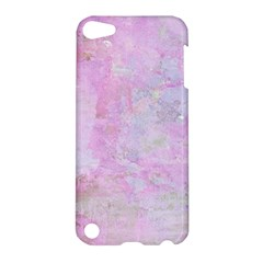 Soft Pink Watercolor Art Apple Ipod Touch 5 Hardshell Case