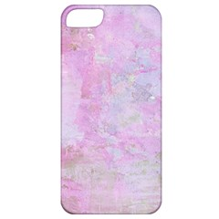 Soft Pink Watercolor Art Apple Iphone 5 Classic Hardshell Case