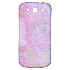 Soft Pink Watercolor Art Samsung Galaxy S3 S Iii Classic Hardshell Back Case