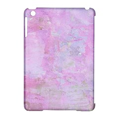Soft Pink Watercolor Art Apple Ipad Mini Hardshell Case (compatible With Smart Cover)