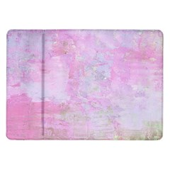 Soft Pink Watercolor Art Samsung Galaxy Tab 10 1  P7500 Flip Case