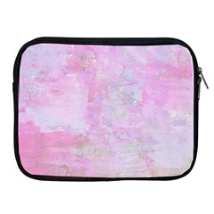 Soft Pink Watercolor Art Apple Ipad 2/3/4 Zipper Cases