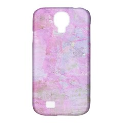 Soft Pink Watercolor Art Samsung Galaxy S4 Classic Hardshell Case (pc+silicone)