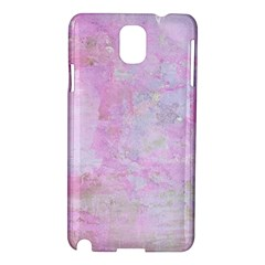 Soft Pink Watercolor Art Samsung Galaxy Note 3 N9005 Hardshell Case