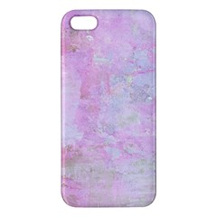 Soft Pink Watercolor Art Iphone 5s/ Se Premium Hardshell Case