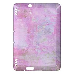 Soft Pink Watercolor Art Kindle Fire Hdx Hardshell Case by yoursparklingshop
