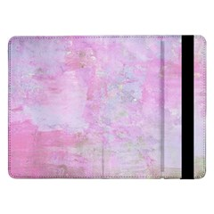Soft Pink Watercolor Art Samsung Galaxy Tab Pro 12 2  Flip Case