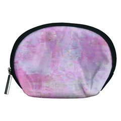 Soft Pink Watercolor Art Accessory Pouches (medium)