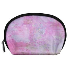 Soft Pink Watercolor Art Accessory Pouches (large)