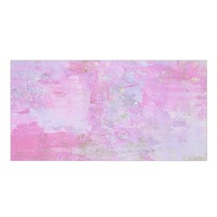 Soft Pink Watercolor Art Satin Shawl