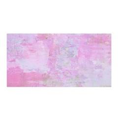Soft Pink Watercolor Art Satin Wrap