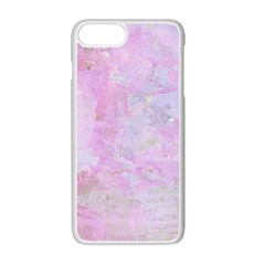 Soft Pink Watercolor Art Apple Iphone 7 Plus Seamless Case (white)