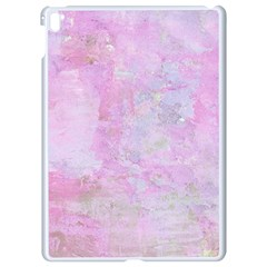 Soft Pink Watercolor Art Apple Ipad Pro 9 7   White Seamless Case