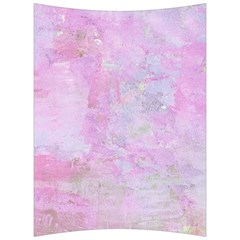 Soft Pink Watercolor Art Back Support Cushion