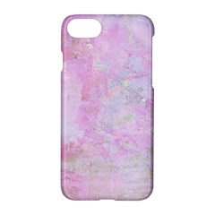 Soft Pink Watercolor Art Apple Iphone 8 Hardshell Case