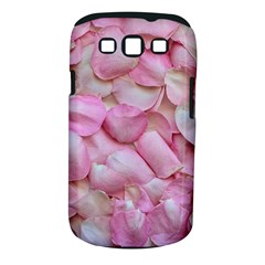 Romantic Pink Rose Petals Floral  Samsung Galaxy S Iii Classic Hardshell Case (pc+silicone)