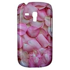 Romantic Pink Rose Petals Floral  Galaxy S3 Mini