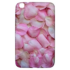 Romantic Pink Rose Petals Floral  Samsung Galaxy Tab 3 (8 ) T3100 Hardshell Case  by yoursparklingshop