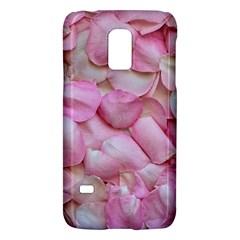 Romantic Pink Rose Petals Floral  Galaxy S5 Mini
