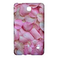 Romantic Pink Rose Petals Floral  Samsung Galaxy Tab 4 (8 ) Hardshell Case  by yoursparklingshop