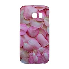 Romantic Pink Rose Petals Floral  Galaxy S6 Edge