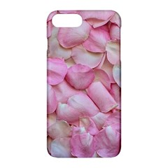 Romantic Pink Rose Petals Floral  Apple Iphone 7 Plus Hardshell Case