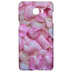 Romantic Pink Rose Petals Floral  Samsung C9 Pro Hardshell Case