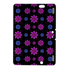 Stylized Dark Floral Pattern Kindle Fire Hdx 8 9  Hardshell Case