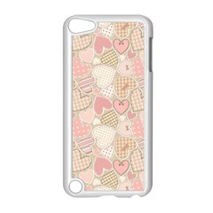 Cute Romantic Hearts Pattern Apple Ipod Touch 5 Case (white)