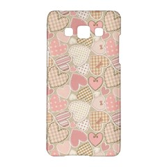 Cute Romantic Hearts Pattern Samsung Galaxy A5 Hardshell Case