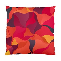 Red Orange Yellow Pink Art Standard Cushion Case (one Side)