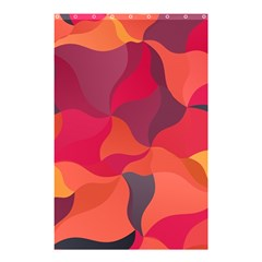 Red Orange Yellow Pink Art Shower Curtain 48  X 72  (small)